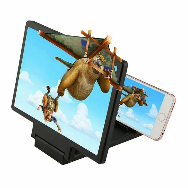 3D Увеличитель экрана смартфона   Подставка для увеличения изображения для телефона Enlarge screen F1