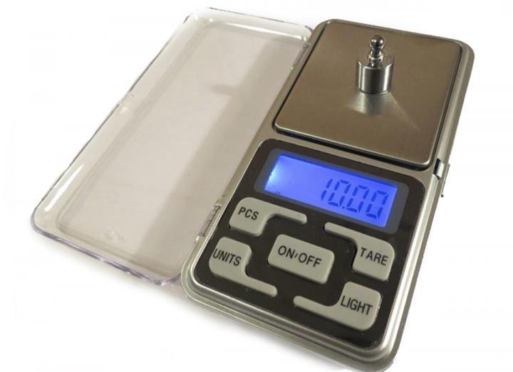 Электронные цифровые карманные ювелирные весы для точного взвешивания Pucket Scake  ACS 500gr/0.01g