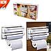Кухонный диспенсер для бумажных полотенец, фольги и пищевой пленки Dispenser, фото 2