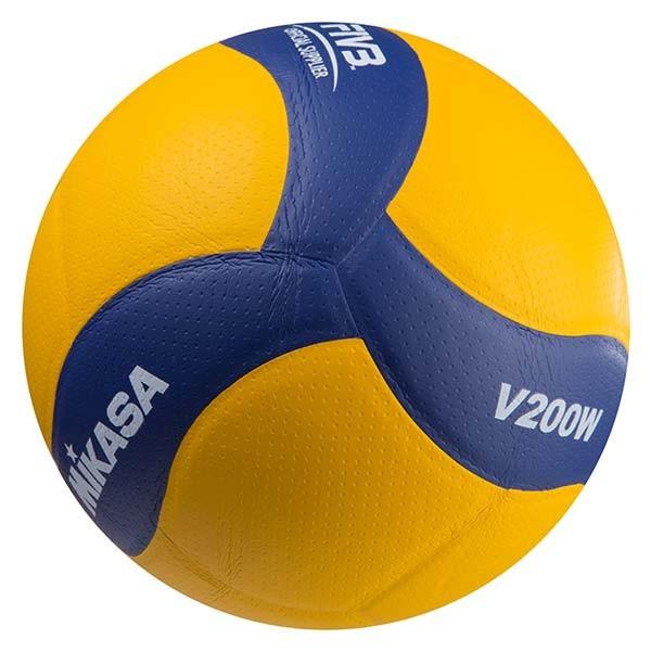 М'яч волейбольний Клеєний PU MIK VB-1848 V200W