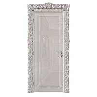 Міжкімнатні двері Casa Verdi Filetto 6 з масиву вільхи світло-сіра