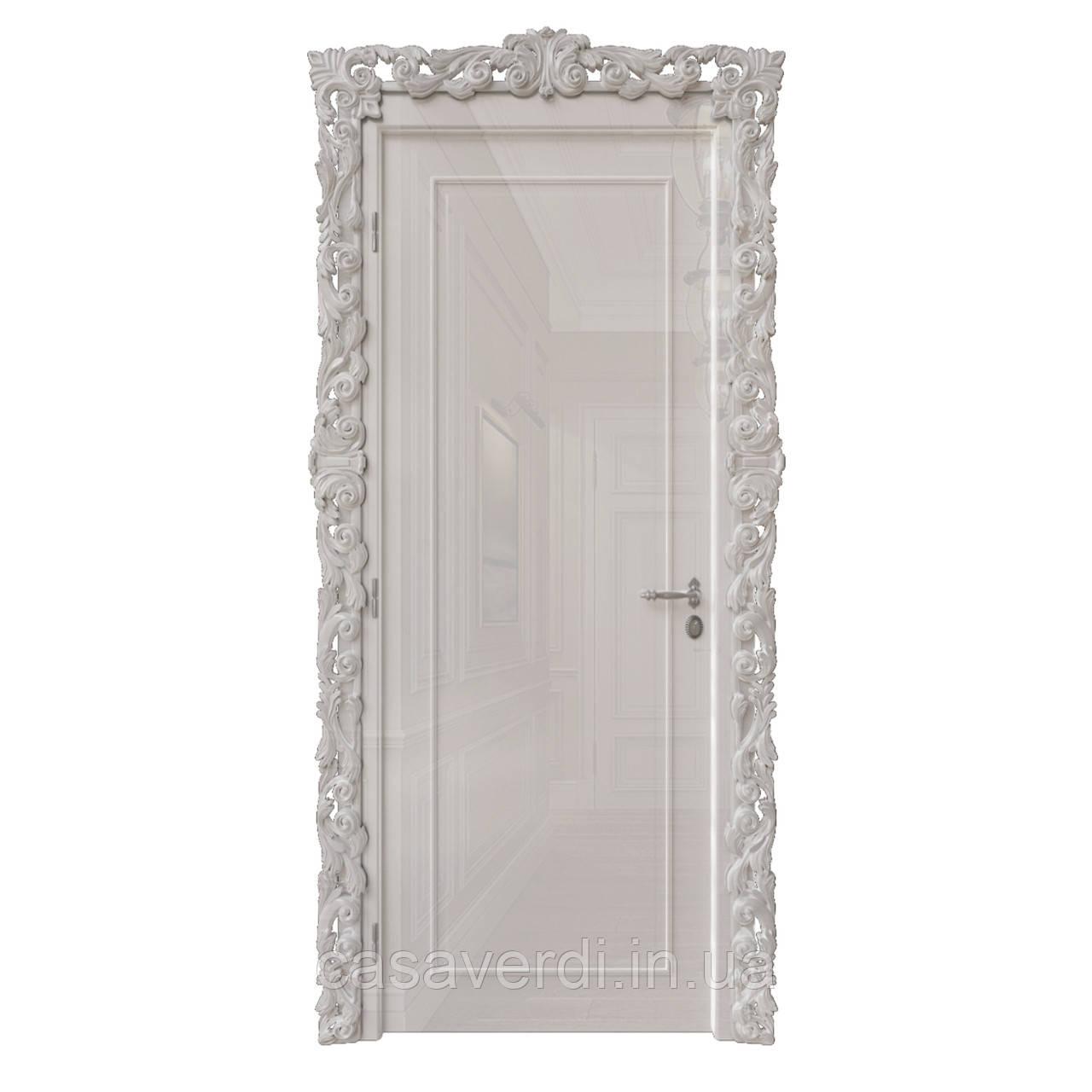 Межкомнатная дверь Casa Verdi  Filetto 6 МДФ светло-серая