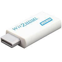 Wii - HDMI адаптер, конвертер відео + аудіо, 1080P, фото 1