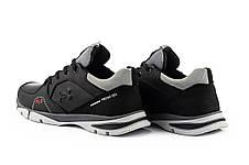 Подростковые кроссовки кожаные весна/осень черные Splinter Boy 2820, фото 3