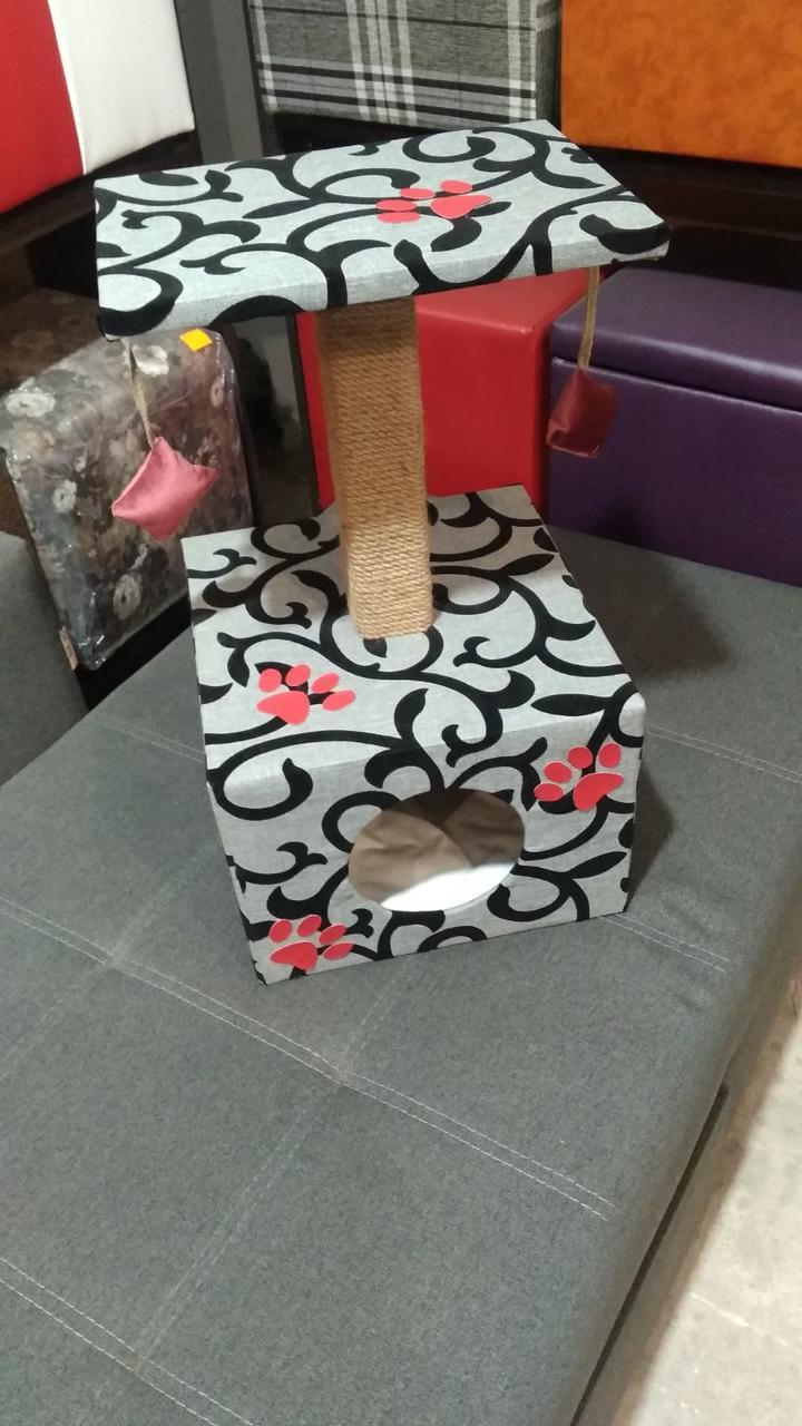 Когтеточка-домик,лежак для кошки,лежанка,лежаки,ліжко,ліжко для котів,когтеточка,царапка
