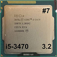 Процессор ЛОТ #7 Intel Core i5-3470 N0 SR0T8 3.2GHz up 3.6GHz 6M Cache Socket 1155 Б/У, фото 1