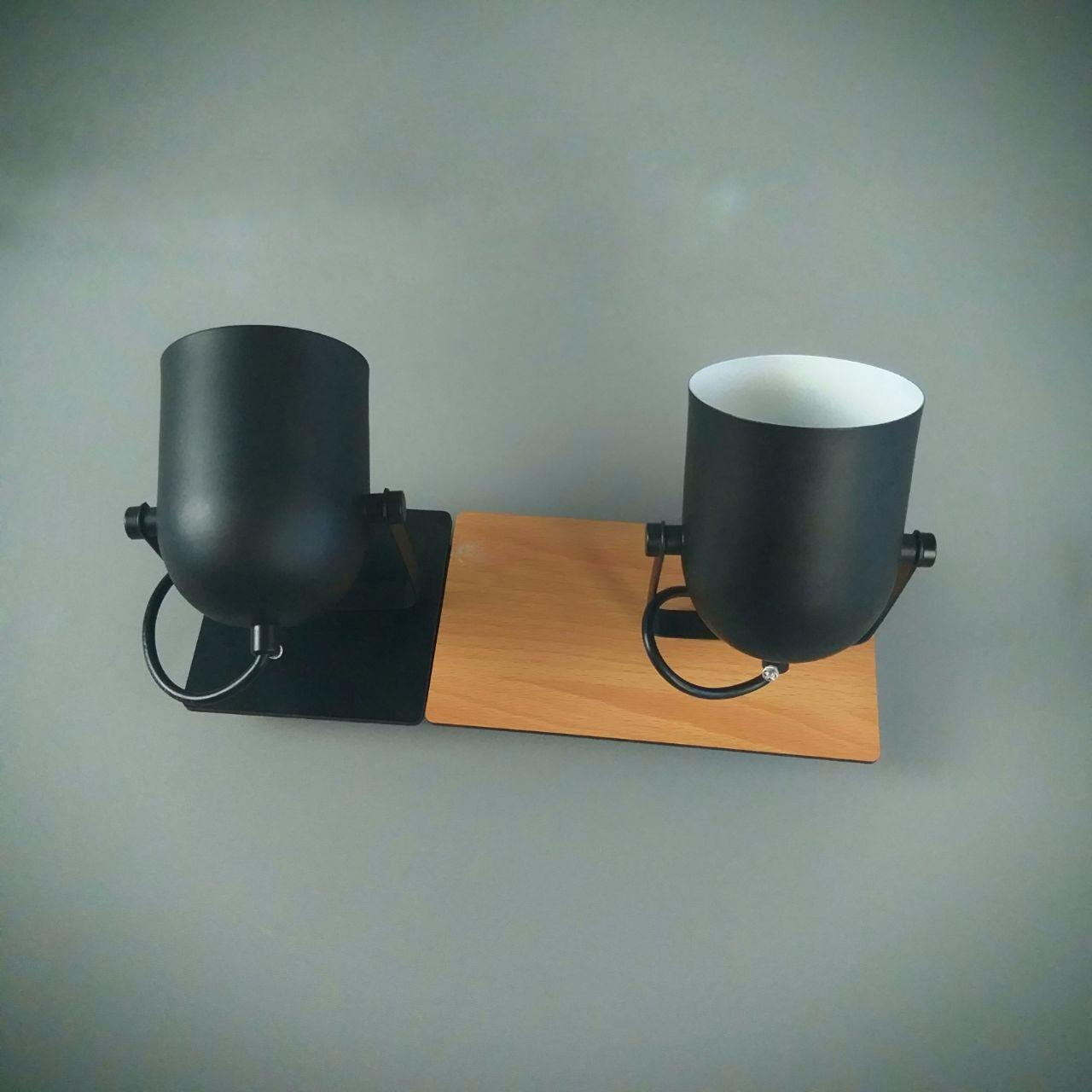 Люстра потолочная на 2 лампы 06-8661/2 BK+BR