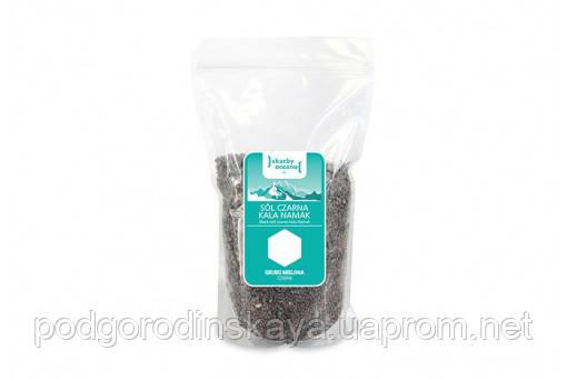 Соль черная Kala Namak грубого помола Skarby Oketanu, 0,6 кг