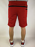 Літні чоловічі шорти червоні, фото 3