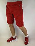 Літні чоловічі шорти червоні, фото 4