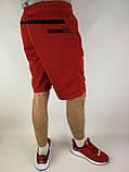 Літні чоловічі шорти червоні, фото 5