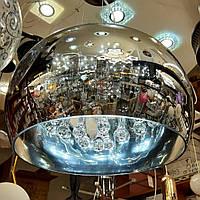 Люстра Подвесная LED 3 режима свечения потолочная светодиодная Графит 8057, фото 1