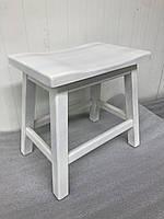 Табурет для кухни деревянный Волна Хвиля Хвыля Рускополянский Мебельный Комбинат