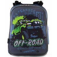 Рюкзак школьный 1 Вересня каркасный H-12 Off-road (554587)