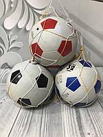 Мяч резиновый футбольный 0018