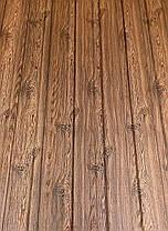 Профнастил с рисунком дерево ВЕНГЕ 3Д размер листа 1,5мХ1,16м, фото 3