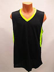 Форма баскетбольная мужская Star черно-салатовая/баскетбол/форма взрослая для баскетбола/