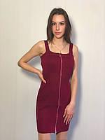 """Платье рубчик женское , р-р универсал 42-46 (5цв)  """"COCO"""" купить недорого от прямого поставщика, фото 1"""