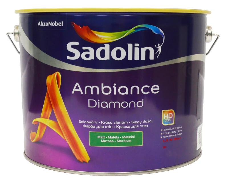 Акрилатна фарба SADOLIN AMBIANCE DIAMOND інтер'єрна транспарентна (база ВС) 9,3 л