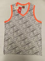 Форма баскетбольная мужская Star бело-серая с оранжевым