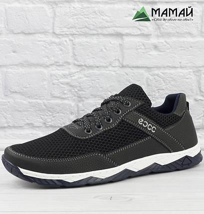 Кросівки чоловічі сітка біла підошва 40,42р, фото 2