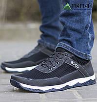 Кросівки чоловічі сітка біла підошва 40,42р, фото 3