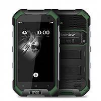 Смартфон защищенный с большим емким аккумулятором на 2 сим карты Blackview BV6000 black-green 3/32 гб, фото 1