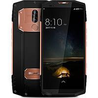 Смартфон противоударный с большим дисплеем и мощной батареей на 2 сим карты Blackview BV9000 gold IP68 4/64 гб, фото 1
