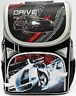 Школьный ортопедический рюкзак для мальчика Драйв 34х26х14,5 см каркасный