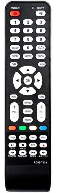Пульт для телевизора Supra RC02-T338