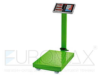 Весы электронные торговые BITEK 300кг 40х50см 4В усиленная платформа 2шт YZ-909-G3-300KG-4050