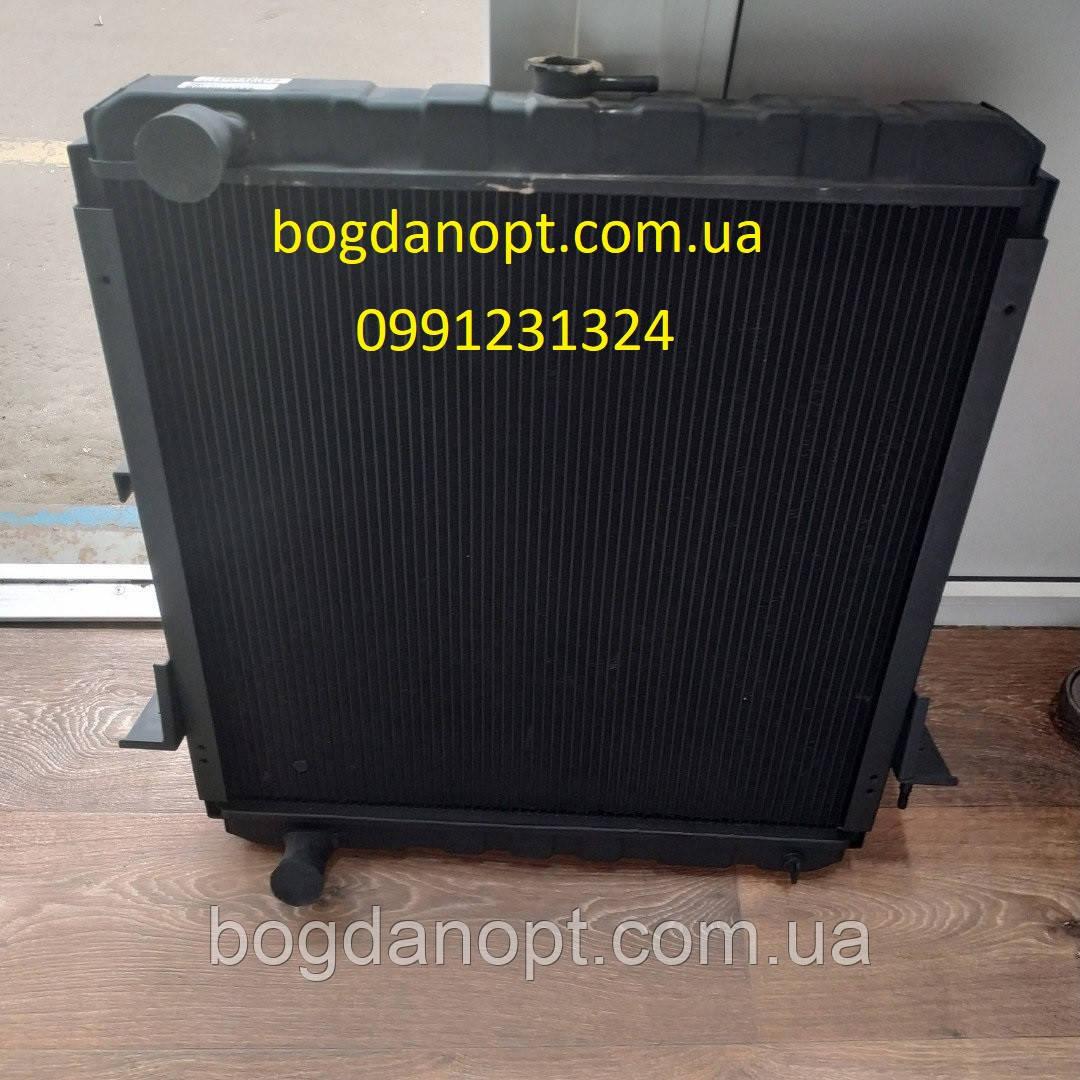 Радиатор Богдан А-091,А-092, Исузу Е-2 медно-латунный