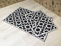 Набор ковриков в ванную. 100% хлопок. Турция. 25080-24