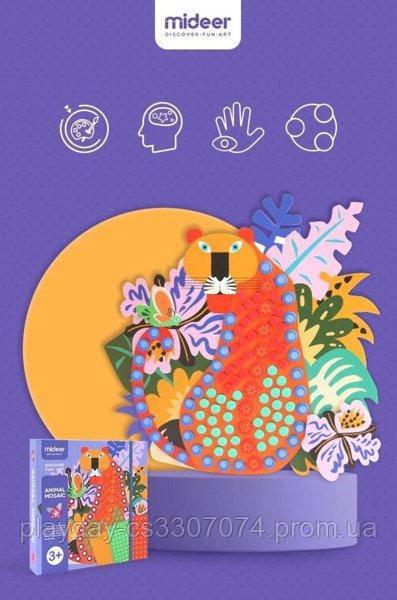 Мозаика Апликация Mideer Животные