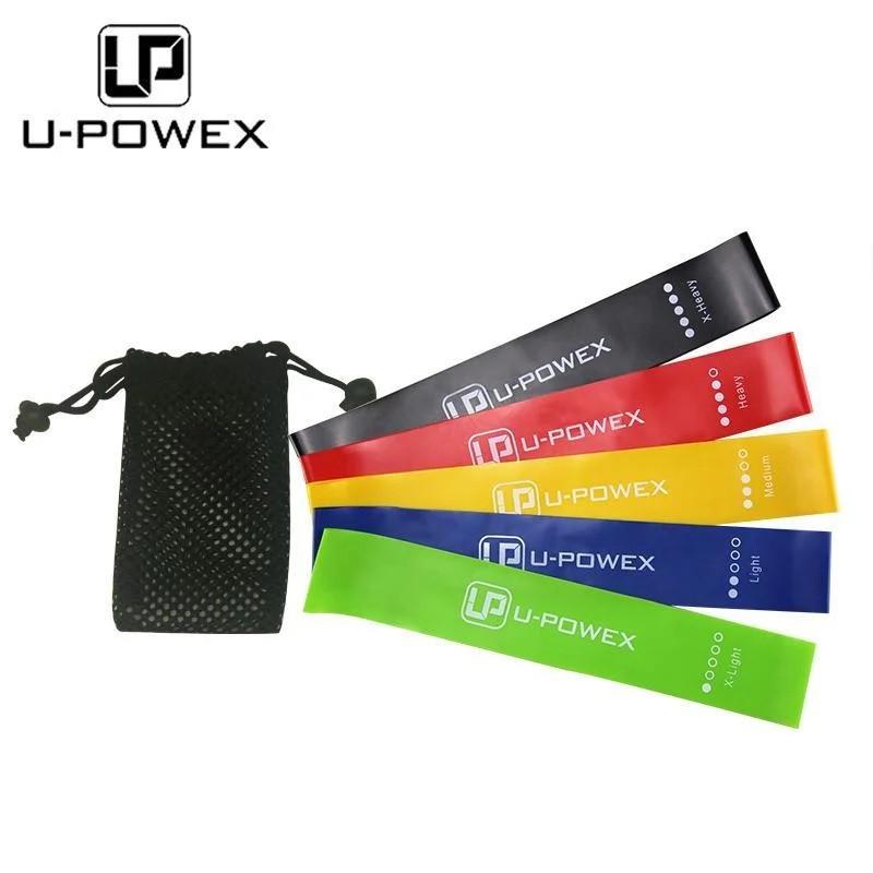 Набор из 5 резинок U-Powex для фитнеса