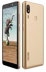 Смартфон Tecno Pop 3 (BB2) 1/16GB Dual Sim Champagne Gold (4895180751271)