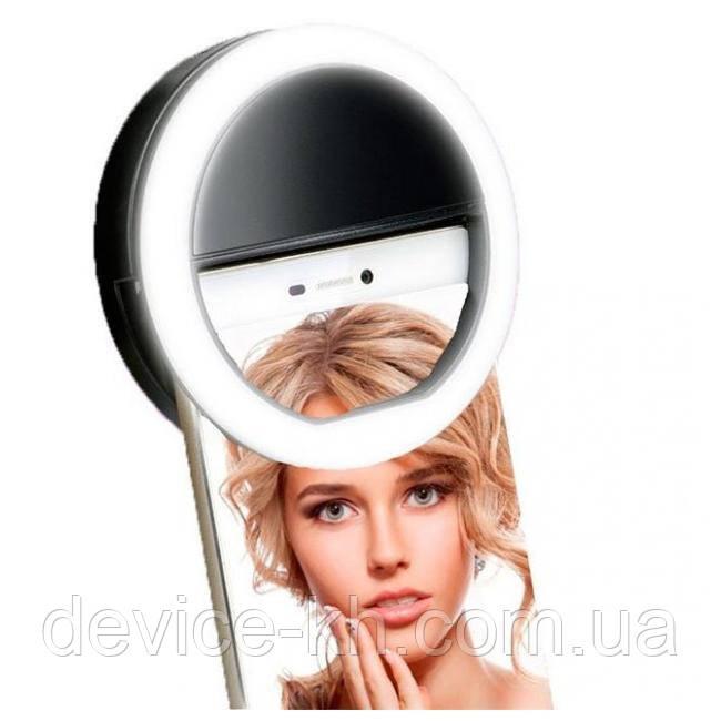 Подсветка для телефона акккумуляторная (селфи-кольцо) XJ-01 Selfie Ring Light