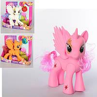 Игровой набор фигурка Литл Пони (my Little Pony) принцесса с крыльями 19 см, музыка, всет, 2 вида, Z348