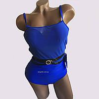 Женский  слитный купальник сетка  со съемным пуш-ап   размеры евро 38 40 42 44 46