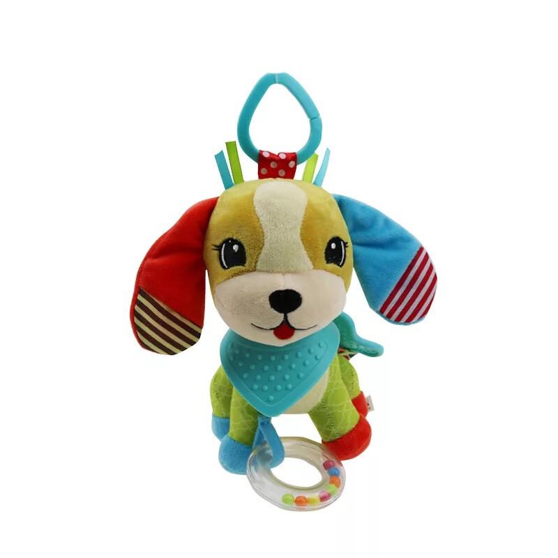 Підвісна іграшка на коляску з дзвіночком ЩЕНЯ