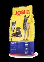 ЙозіДог Актив. Повноцінний корм для дорослих собак. 18кг.