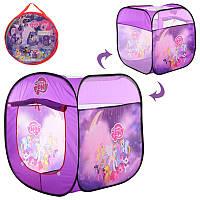 Палатка для детей модель M 5774  LP, куб, 72-72-82 см,1 вход-накидка-липучка, 3 окна, в сумке.