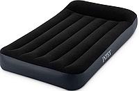 Велюр Кровать для детей модель 64141размер: 191х99х25 см односпальная, с подголовником.
