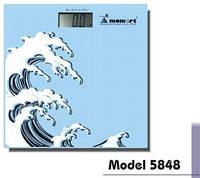 Электронные весы для ванной комнаты Momert (Волна) Модель 5848