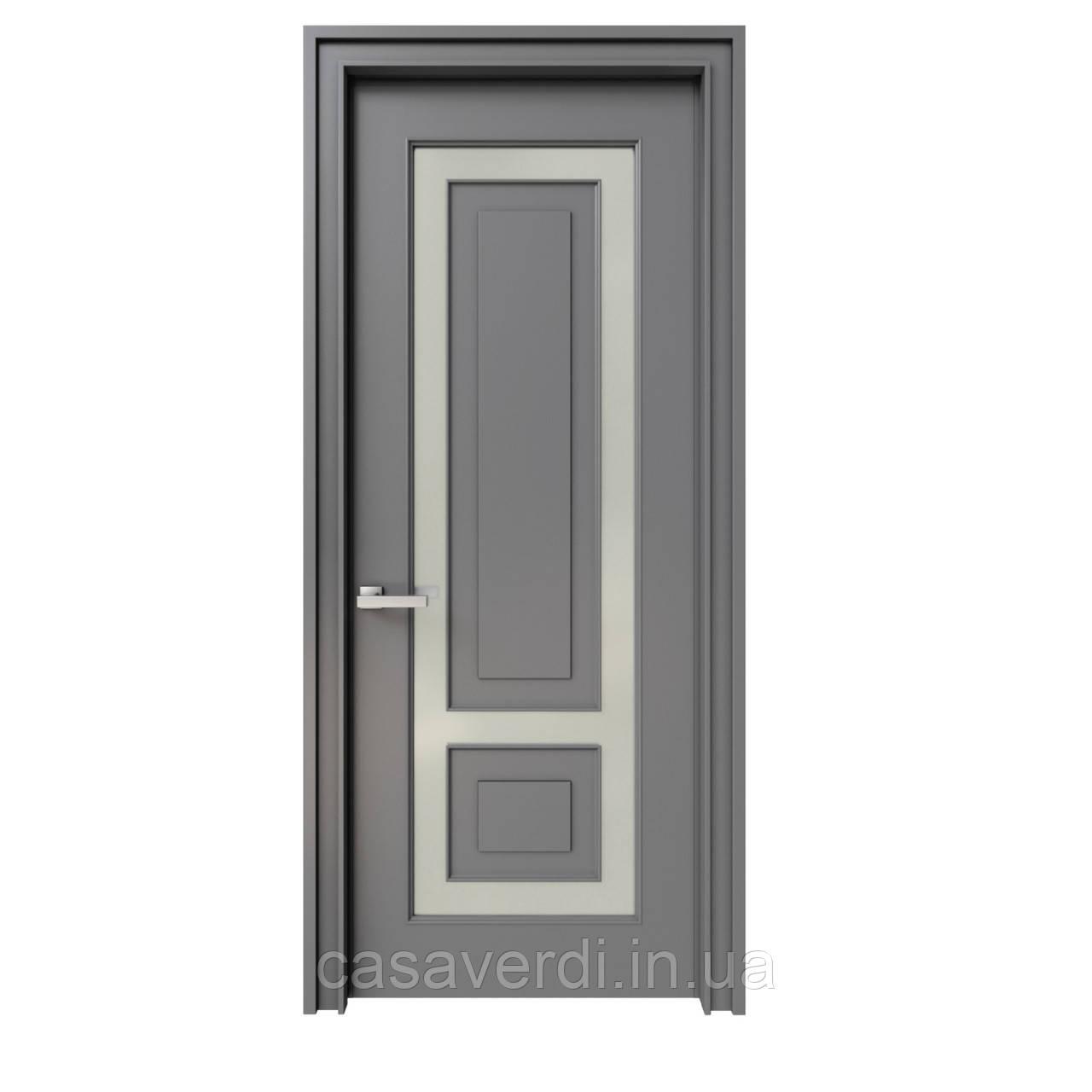 Межкомнатная дверь Casa Verdi Vetro 5 из массива ольхи