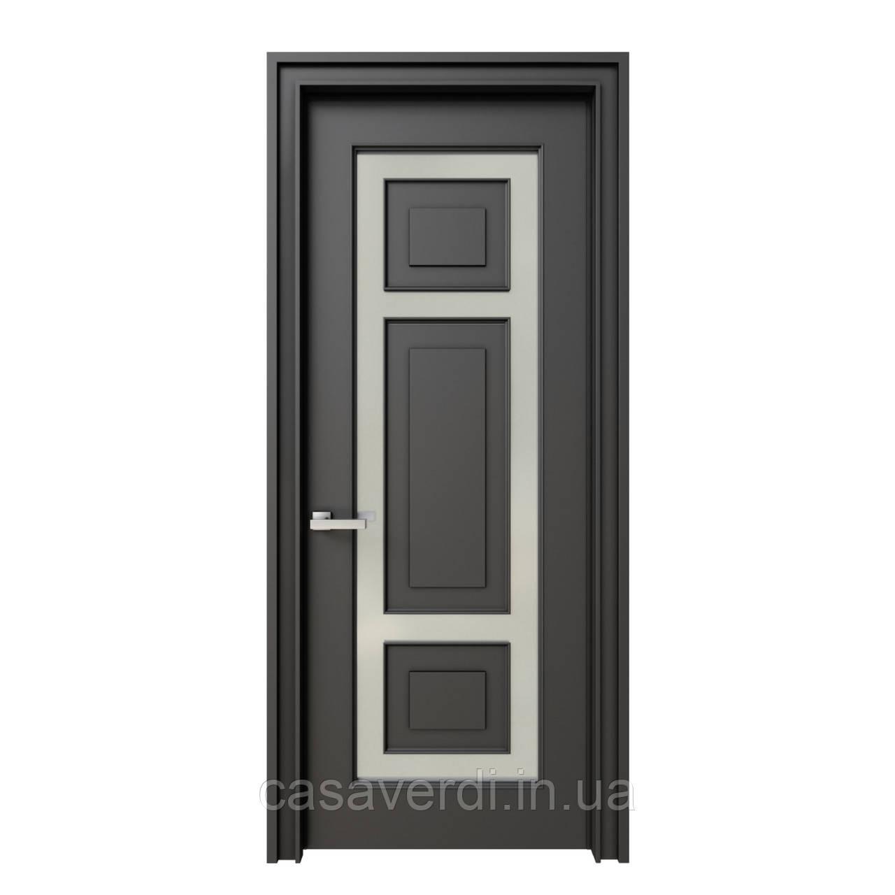 Межкомнатная дверь Casa Verdi Vetro 6 из массива ольхи
