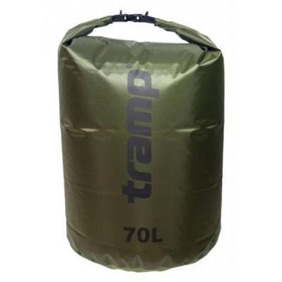 Гермомешок Tramp PVC Diamond Rip-Stop оливковый 70л (TRA-209-olive)