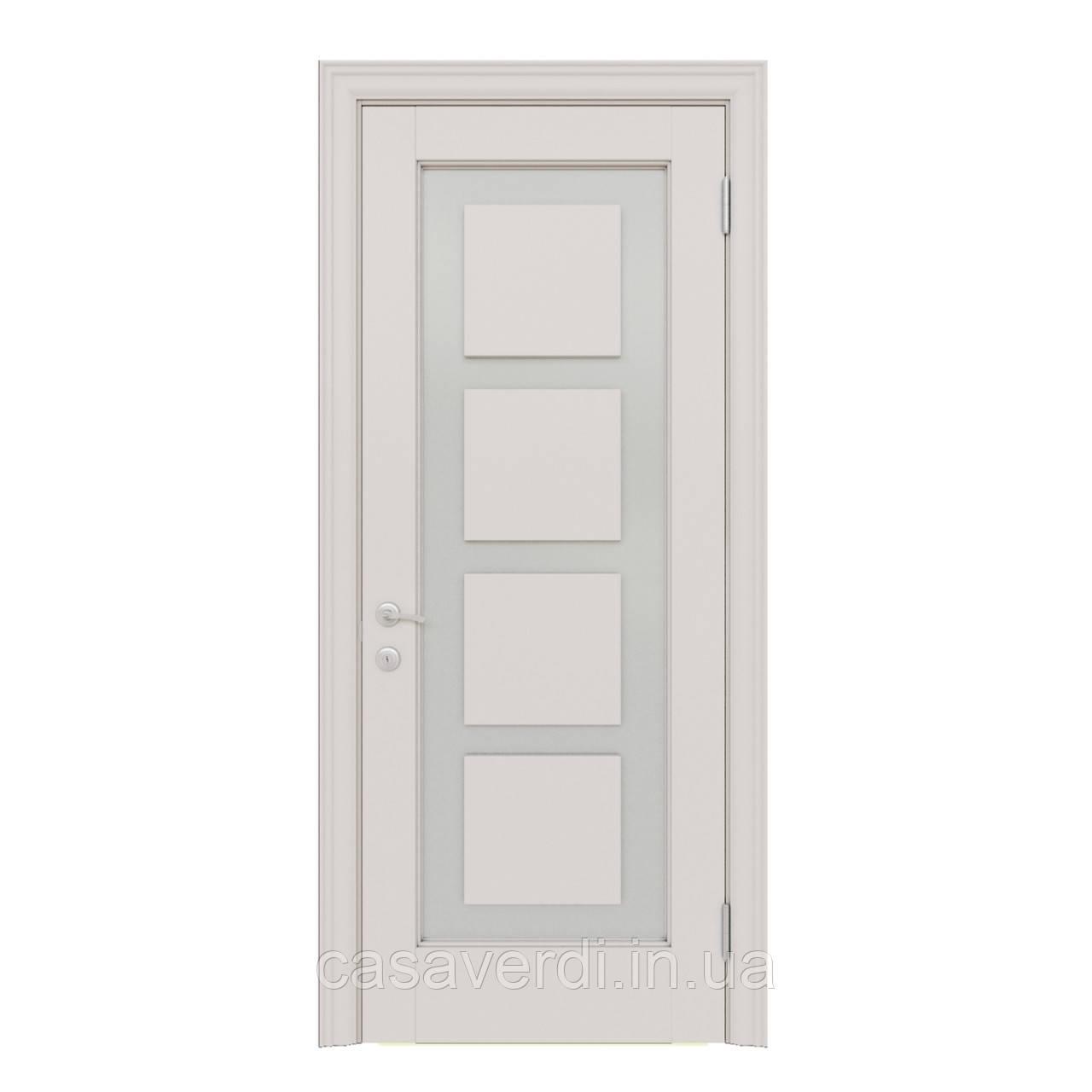 Межкомнатная дверь Casa Verdi Vetro 8 из массива ольхи
