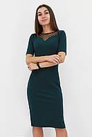S, M, L, XL | Жіноче вечірнє плаття з сіточкою Tiana, зелений