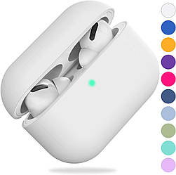 Чохол для навушників Silicone Case for AirPods Pro - Color White